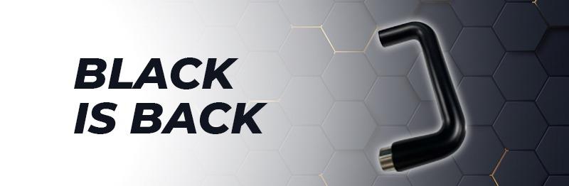 Black Handle Header