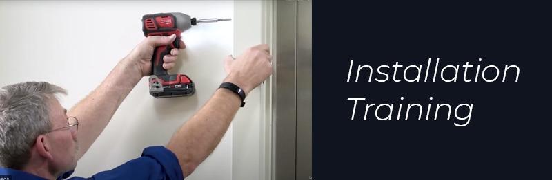 installation training header